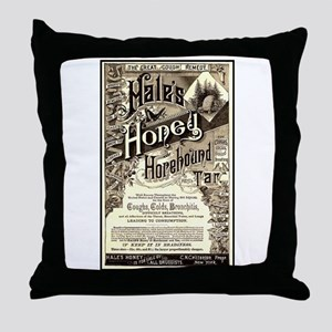Hale's Honey Throw Pillow