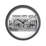 Dodge City 1879 Wall Clock