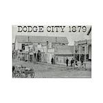 Dodge City 1879 Rectangle Magnet (100 pack)
