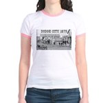 Dodge City 1879 Jr. Ringer T-Shirt