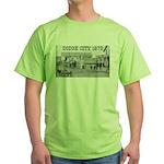 Dodge City 1879 Green T-Shirt