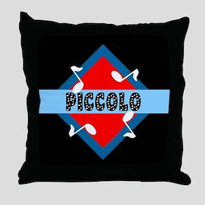 Piccolo Notes Throw Pillow