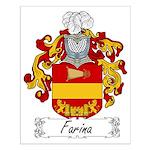 Farina Family Crest Small Poster