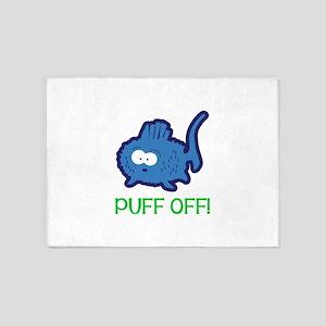 Puff Off 5'x7'Area Rug
