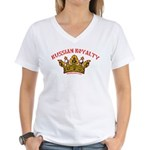 VeryRussian.com Women's V-Neck T-Shirt