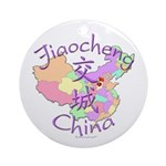 Jiaocheng China Ornament (Round)