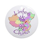 Linfen China Ornament (Round)
