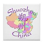 Shuozhou China Tile Coaster