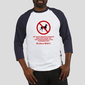 Manchester Terrier Baseball Jersey