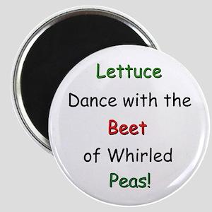 Lettuce dance & Peas Magnet