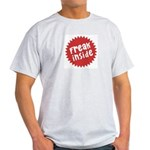 Freak Inside Ash Grey T-Shirt