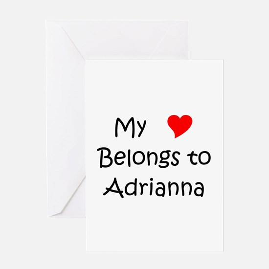 Adrianna Greeting Card