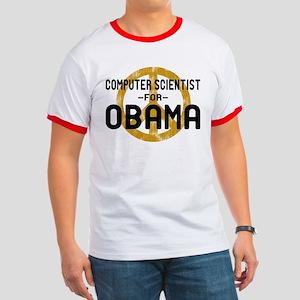 Computer Scientist for Obama Ringer T