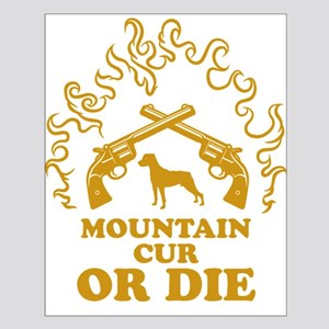 Mountain Cur Small Poster