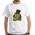 Halloween T-shirt! Vintage skull with top hat