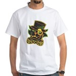 Halloween T-shirt! Vintage cat with top hat