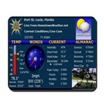 Home Town Weather Mouse Pad