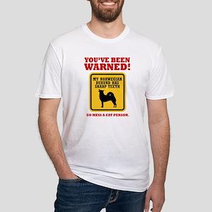 Norwegian Buhund Fitted T-Shirt