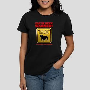 Old English Bulldog Women's Dark T-Shirt
