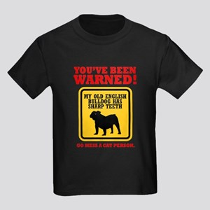 Old English Bulldog Kids Dark T-Shirt
