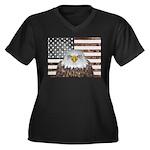 American Bald Eagle Patriot Plus Size T-Shirt
