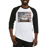 American Bald Eagle Patriot Baseball Jersey
