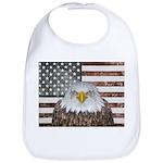 American Bald Eagle Patriot Baby Bib