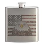 American Bald Eagle Patriot Flask