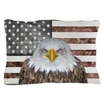American Bald Eagle Patriot Pillow Case