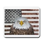 American Bald Eagle Patriot Mousepad