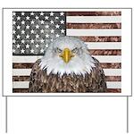 American Bald Eagle Patriot Yard Sign