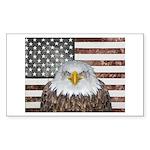 American Bald Eagle Patriot Sticker