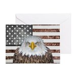 American Bald Eagle Patriot Greeting Cards