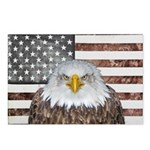 American Bald Eagle Patriot Postcards (Package of