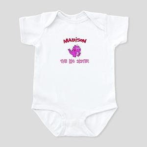 Madison - Dino Big Sister Infant Bodysuit