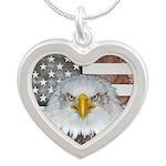 American Bald Eagle Patriot Necklaces