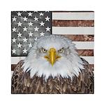 American Bald Eagle Patriot Queen Duvet