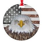 American Bald Eagle Patriot Ornament