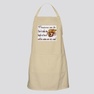 Coffee comes out my nose BBQ Apron