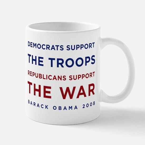 Democrats Support the Troops, Mug