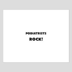Podiatrists ROCK Small Poster