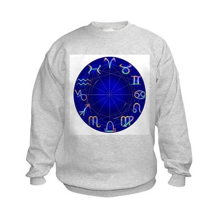 Astrology Wheel Kids Sweatshirt