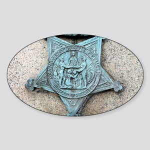 Grand Army of the Republic Oval Sticker
