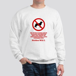 Nova Scotia Duck Tolling Sweatshirt