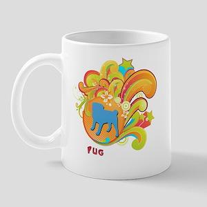 Groovy Pug Mug