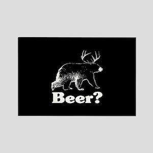 Beer? Rectangle Magnet