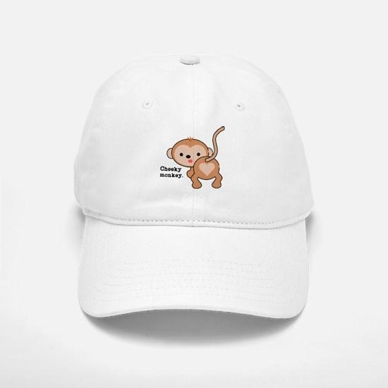 Cheeky Monkey Baseball Baseball Cap