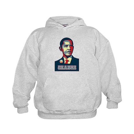 Barack Obama Change Kids Hoodie