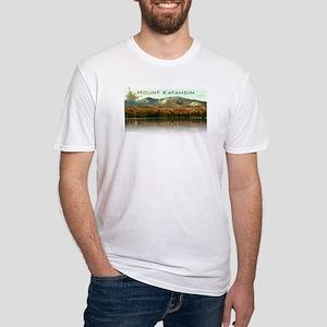 Mount Katahdin, Baxter State Park Fitted T-Shirt