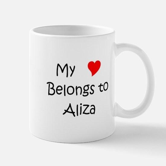 Unique Aliza Mug